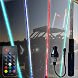 20 Color 200 Combination 5ft LED Whip (Remote Controlled)