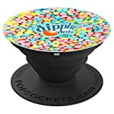 Dippin Dots - Rainbow Color Ice Cream PopSockets Grip and Stand for Phones and Tablets