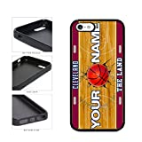 BleuReign(TM) Personalized The Land Custom Name Basketball Team Cleveland License Plate TPU RUBBER SILICONE Phone Case Back Cover For Apple iPhone 5 5s and iPhone SE