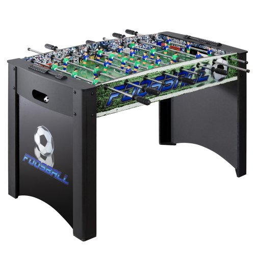 Hathaway Playoff 4' Foosball Table, Soccer Game for Kids and Adults with Ergonomic Handles, Analog...