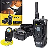 Dogtra 200C Remote Training Collar - 1/2 Mile Range, Waterproof, Rechargeable, Shock, Vibration - Includes PetsTEK Dog Training Clicker