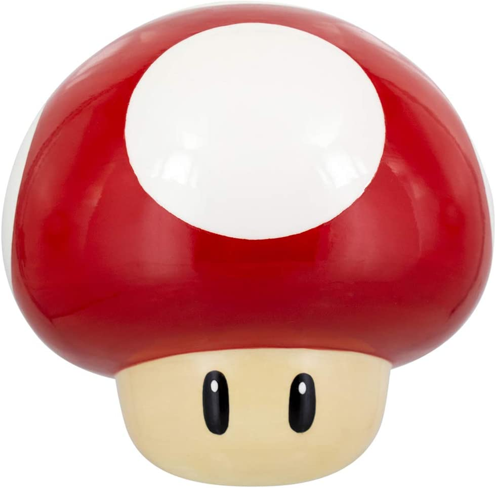 Amazon Com Paladone Super Mario Mushroom Cookie Jar Kitchen Dining
