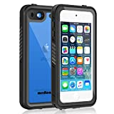 Waterproof Case for iPod 6/iPod 5, Meritcase Knight Series Waterproof Shockproof Dirtproof Snowproof Case Cover with Kickstand for Apple iPod Touch 5th/6th Generation for Snorkeling