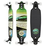 Sector 9 Verde Mini Fractal Complete 34 Inch Maple Drop Through Longboard for Carving