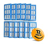 K&J 12-Pack of Compatible with Cat Mate & Dog Mate Fountain Replacement Filter Cartridges