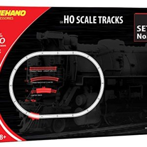 Mehano MEHANOF106 Additional (32 Pcs) Ho Scale Tracks Set 6-Made in Slovenia, Multi Colour 51jmJ3CAVbL