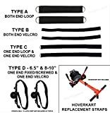 SmartBoardsUSA HoverKart HoverCart Straps for Hoverboard - All Types Available (Type B)