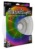 Nite Ize Flashflight LED Light Up Flying Disc, Glow in the Dark for Night Games, 185g, Disc-O (Multi)