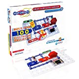 Snap Circuits Jr. SC-100 Electronics Exploration Kit | Over 100 Projects | Full Color Project Manual | 30+ Snap Circuit Parts | STEM Educational Toy For Kids 8+