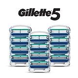 Gillette 5 Men's Razor Blade Refills, 12 Count