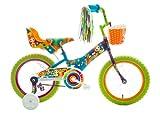 Titan Girl's Flower Power Princess BMX Bike, Multi Color, 16-Inch