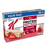Special K Protein Meal Bars, Strawberry, Value Pack, 19 oz (12 Count)