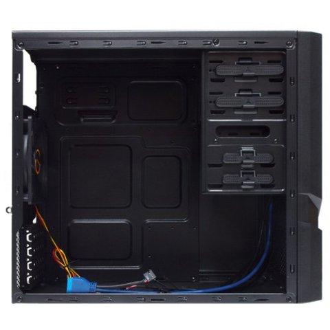 REEVEN USB3.0/SSD対応 Micro-ATXミニタワーケース ゲーミング ツールフリー RE-M18002-B