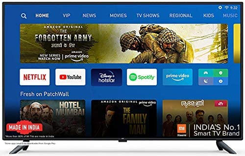 Mi 4X 125.7 cm (50 Inches) 4K Ultra HD Android LED TV (Black)
