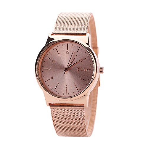 Display:Analog. Band Material:Stainless Steel. Movement:Quartz Watchcase Diameter: 3cm.Band Length: 23cm.Band Width: 2cm Fashionable special design draws much attention. This is a good present for your relatives and friends.