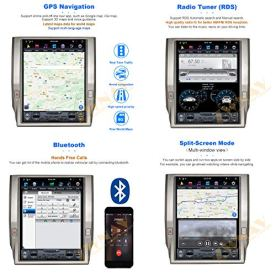 ZWNAV-Android-90-Car-Stereo-for-Toyota-Tundra-Radio-Android-Auto-Carplay-Bluetooth-Mirror-Link-Tesla-Style-IPS-Screen-GPS-Navigation-2014-2018-PX6-4G64G-Multimedia-Steering-Wheel-Control