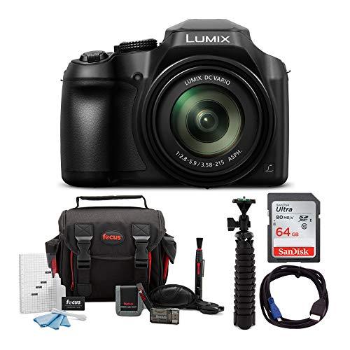 Panasonic-LUMIX-FZ80-4K-Long-Zoom-Camera-181-Megapixels-60X-20-1200mm-Lens-64GB-Accessory-Bundle