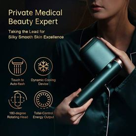 Painless Permanent Hair Removal Device