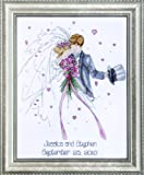 Design Works Counted Cross Stitch kit - Wedding Couple