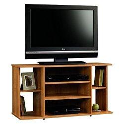 Sauder Beginnings TV Stand, For TV's up to 42″, Highland Oak finish