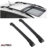 AUTEX Aluminum Roof Rack Cross Bar Compatible with Subaru Forester 2014 2015 2016 2017 2018 Crossbar Luggage Racks Carrier Cargo Carrier Roof Top Rail Rack