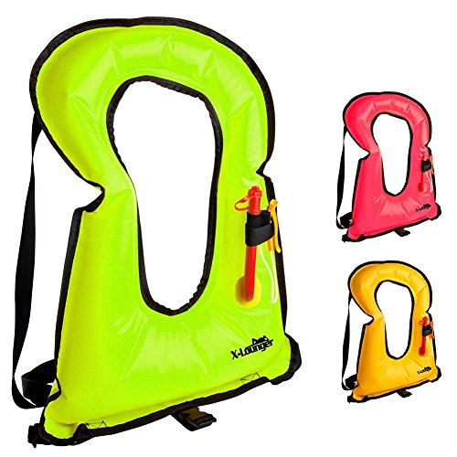 X-Lounger Inflatable Life Jacket Snorkel Vest