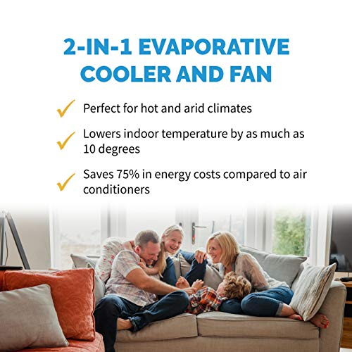 NewAir-AF-310-Portable-Indoor-Outdoor-Evaporative-Air-Fan-and-Humidifier-Personal-Swamp-Cooler-100-Square-Foot-Effective-Range