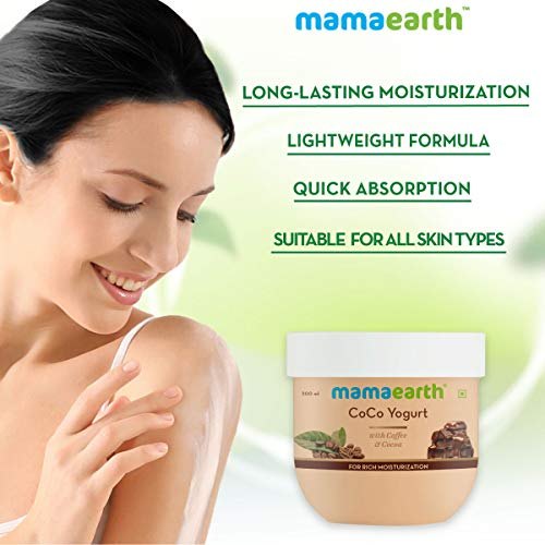 51kFv5dsZNL - Mamaearth CoCo Yogurt, lotion for woman, with Coffee and Cocoa for Rich Moisturization - 200 ml