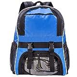 Ball Backpacks,Soccer Bag, Basketball Backpack with Ball Holder, Soccer Ball Bag with Ball Pocket, Football Volleyball Bag, Soccer Backpack Blue
