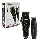 Wahl Professional Essentials Combo #8329 - Features the Taper 2000 Clipper and AC Trimmer - Great for Barbers, Stylists, and Beginning Artists - From Fading and Blending to Edging