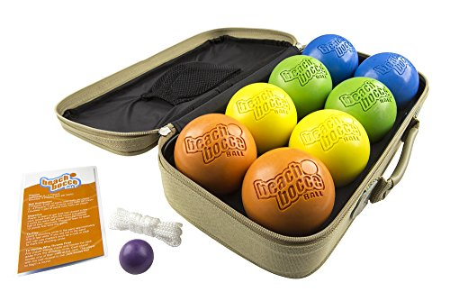 Sea Turtle Sports Luxury Beach Bocce Ball Injection Molded Crack and Rust Proof Set