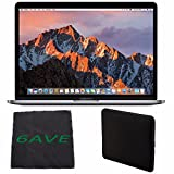 Apple MacBook Pro MLH12LL/A 13.3-inch Laptop with Touch Bar (2.9GHz dual-core Intel Core i5, 256GB Retina Display), Space Gray + Padded Case For Macbook Bundle