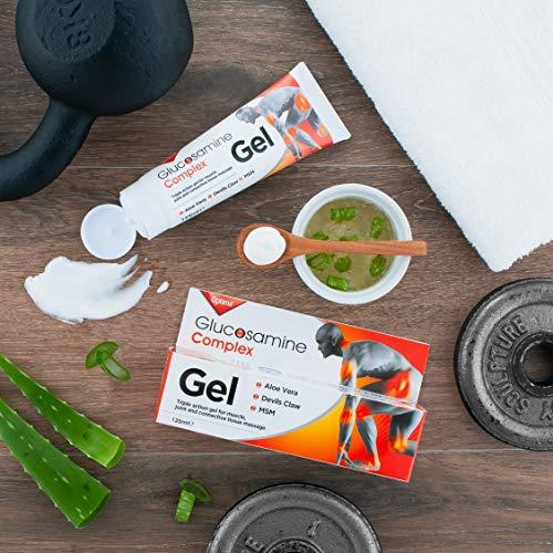 Glucosamina Joint Complex Gel 125 ml, Arancione