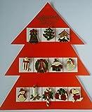 12 X ASSORTED VINTAGE CHRISTMAS PINS BROOCHES/christmas tree/snowman/xmas pin