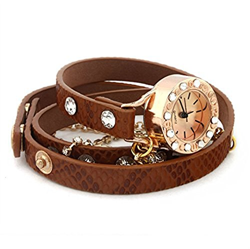51kbhtKeF2L 100% brand new and high quality Watch Case Material: Alloy Watch Belt Material: PU Leather