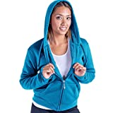 Product review for Lee Hanton Women's Full Zip Soft Sherpa-Lined Fleece Hoodie S-3XL