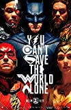 JUSTICE LEAGUE (2017) Original Movie Poster 27x40 - Ver. B - Dbl-Sided - Ben Affleck - Gal Gadot - Henry Cavill - Jason Momoa - Ezra Miller - Amber Heard Mera - Ray Fisher - Willem Dafoe - Amy Adams - Jesse Eisenberg