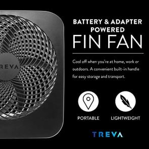Treva-10-Inch-Portable-Desktop-Air-Circulation-Battery-Fan-2-Cooling-Speeds-With-AC-Adapter
