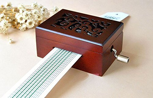 Vintage Wooden Music Box