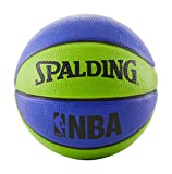 Spalding NBA Mini Basketball 22' - Blue/Green