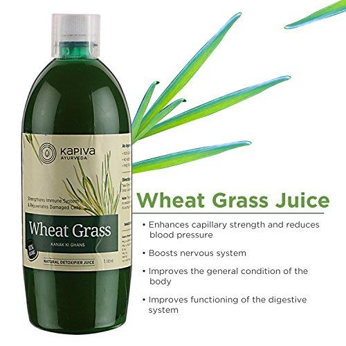 Kapiva Wheat Grass Juice - 1 L - Ayurvedic Superfood 4