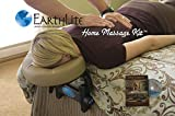 EARTHLITE Home Massage Kit - Deluxe Adjustable Headrest & Face Pillow / Home & Family Massage Made Easy with instructional DVD