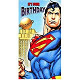 Superman birthday card for any age by Hallmark