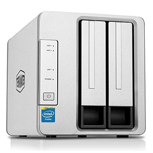 TerraMaster F2-220 2bay NAS 2.4GHz Intel Dual Core CPU 4K Transcoding Media Server Network Storage (Diskless)
