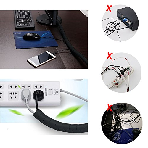 Top 10 Best Computer Cable Organizers - Best of 2018 Reviews   No ...