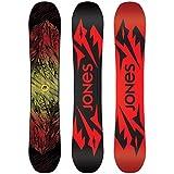 Jones Snowboards Mountain Twin Snowboard One Color, 154cm