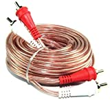 10 Pack 1.5 Feet 2 RCA Male to 2 RCA Male Stereo Car Audio Interconnect Cable