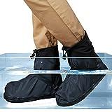 Life-C Black Waterproof Snow Rain Shoes Covers Women Men XXXXL