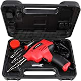 Hi-Spec 180W 3-in-1 Soldering Gun Kit, Wood Burner with 3 Adjustable Temperaures for Soldering Electronics, Wood Engraving, Metalwork & Crafts Soldering Gun in Case
