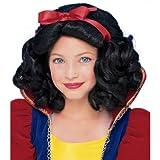 Rubie's Child's Fairest Princess Wig, Black